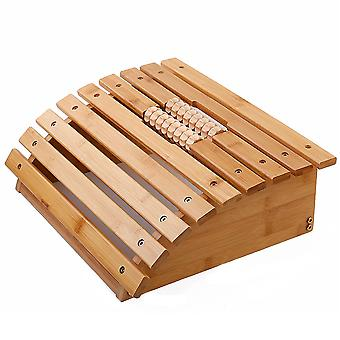 Voetmassage roller bank bamboe hout