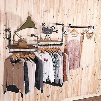 European-style, High-grade Clothing Rack Faucet Water Pipe Retro Clothing