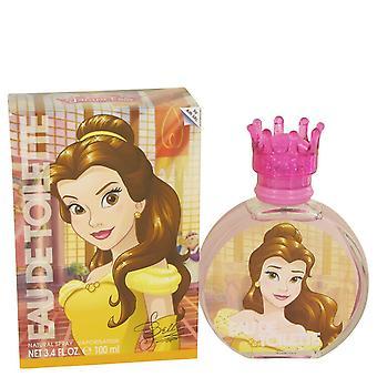 Kaunotar ja hirviö jäseneltä Disney Prinsessa Belle Eau De Toilette Spray 3,3 oz/100 ml (naisten)