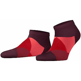 Calcetines de zapatillas Burlington Clyde - Claret Rojo/Rosa