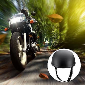 Motocykl polootevřená obličejová přilba matná černá ochranná skořápka pro koloběžky