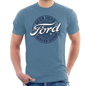 Ford Gear Head Service Garage Herren's T-Shirt