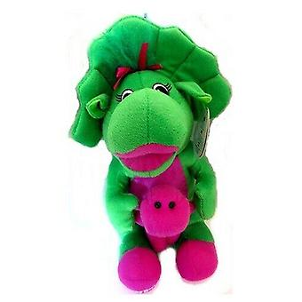 Baby bop the dinosaur with baby barney 25 cm plush