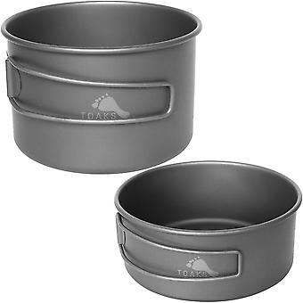 TOAKS Titanio 550ml Outdoor Camping Cooking Bowl
