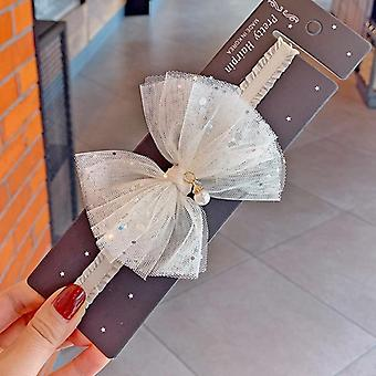 Baby Lace Sequin Bowknot Headband Hair Accessories