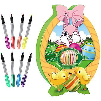 Easter Eggs Decorations Coloring Set For Girls And Boys, Painting Eggs Kit