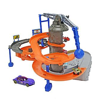 City Adventure Electric Scene Track Set Toy, Giant motordriven action