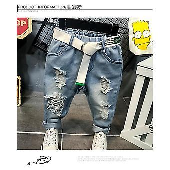 Dětské džíny, kalhoty, oblečení pro batolata (sete-1)