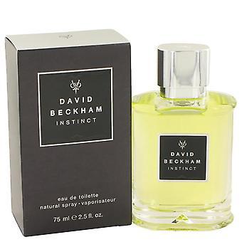 David Beckham instinto eau de toilette spray por David Beckham 420574 75 ml