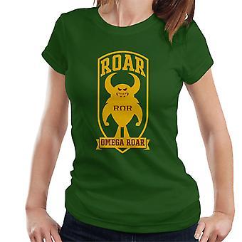 Pixar Monsters University Roar Omega Roar Women's T-paita