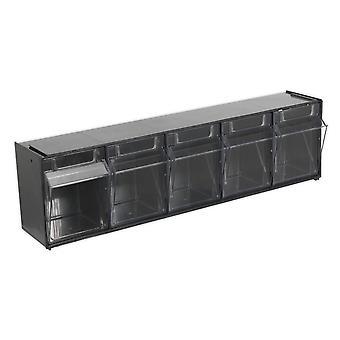 Sealey Apdc5 caja gabinete apilable 5 compartimientos