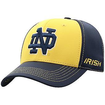 Notre Dame Fighting irske NCAA BLÅR Dynamisk Stretch Monteret Hat