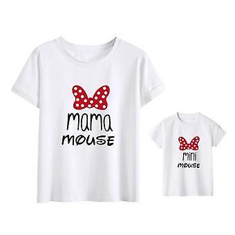 Perheen t-paidat, muotiäiti ja vauvanvaatteet