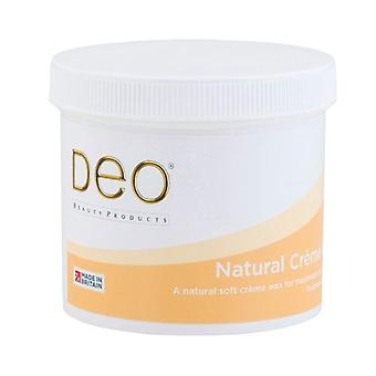 DEO Natural Cream Depilatory Wax Lotion - Ingrédients purs - 425g