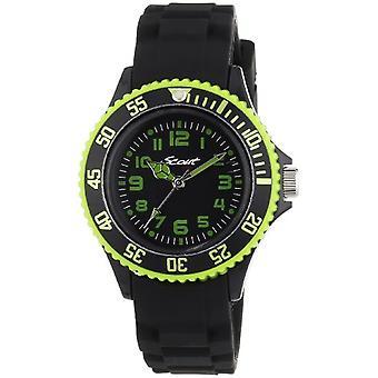 الكشفية 280303000 -- ساعة يد الصبي ، السيليكون ، اللون : أسود