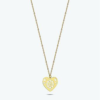 Hart Gouden ketting