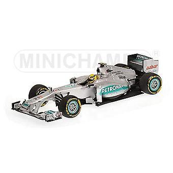 Mercedes Petronas W02 (Nico Rosberg - Showcar 2012) helstøpt modell bil