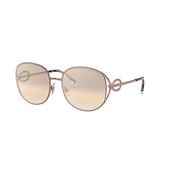 Tiffany TF3065 61053D Rubedo/Brown Mirror Silver Gradient