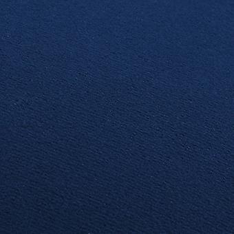 vidaXL Taburete Azul y Terciopelo Dorado