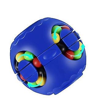 Blue rubik's cube for children x4185