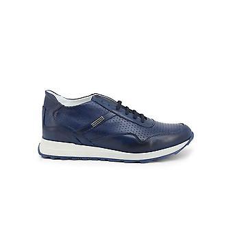 Duca di Morrone - Shoes - Sneakers - 202-MORATA-CRUST-BLU - Men - navy - EU 43