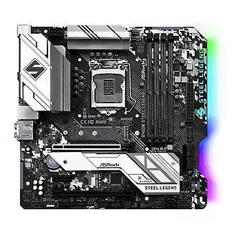 アスロックB460Mスチールレジェンド、インテルB460、1200、マイクロATX、4 DDR4、HDMI、DP、XFire、2.5GB LAN、RGB照明、M.2