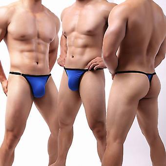 Comfortable Ice Silk T-shaped Men's Sexy Underwear