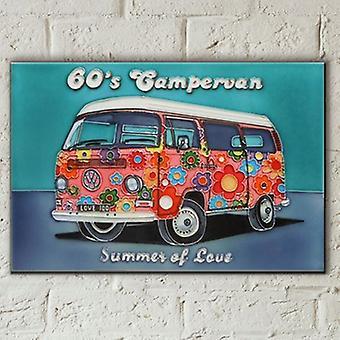 Flis 8x12 Sommer Kjærlighet Campervan VeggKunst