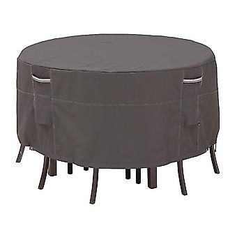 طاولة مستديرة حديقة وكرسي تغطية المطر تغطية غطاء مقعد الحماية من الشمس