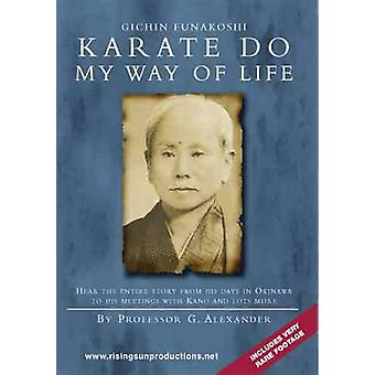 Gichin Funakoshi Karate Do My Way Of Life Dvd Alexander -Vd7055A