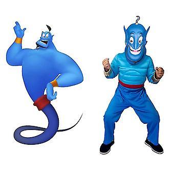 Χαριτωμένο μαγικό κοστούμι απόδοσης παιδιών λαμπτήρων Aladdin μαγικό cosplay λαμπτήρων (εξαιρετικά μεγάλο)