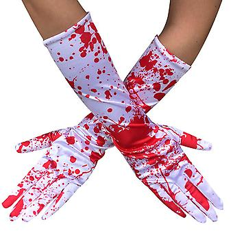 Ghost Blood Cosplay Gloves Halloween Terrifying Costume