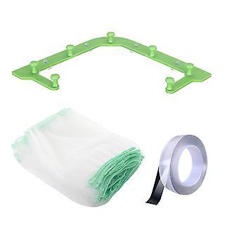 2Set  Multifunctional Drainage Rack Triangle Hanging Net Drain Basket Disposable Garbage Bag Kitchen