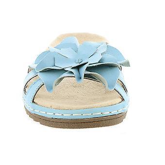 Beacon naisten cupcake nahka avoin toe rento Slide sandaalit