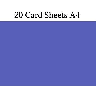 20 kuninkaallinen A4 käyntikorttiarkkeja käsitöitä | Värillinen kortti käsityöt