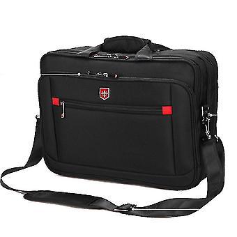 Männer Schultertasche 15,6 Zoll Laptop Messenger Bag