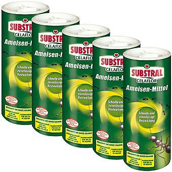 Sparset: 5 x SUBSTRAL® Celaflor® ants, 300 g