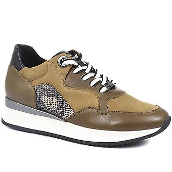 Regarde Le Ciel Womens Ray Leather Trainers