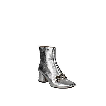 Marc Jacobs | Remi Leather & Chain Link Ankle Booties