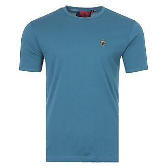 Luke 1977 Trousersnake Crew Neck T-Shirt - Steel Blue