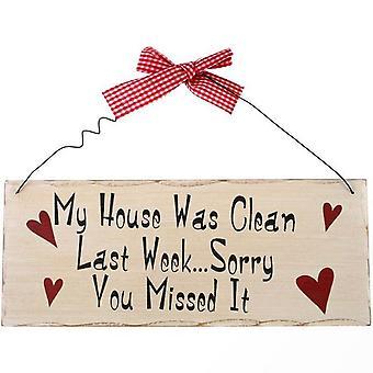 Noget andet mit hus var ren hængende tegn