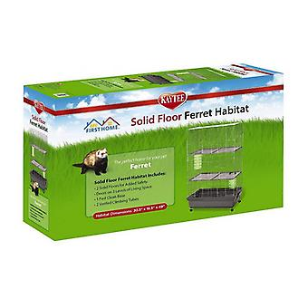 Kaytee Solid Floor Ferret Habitat - 1 count
