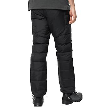 Jack Wolfskin Mens Atmosphere Warm Water Resistant Down Trousers - Black