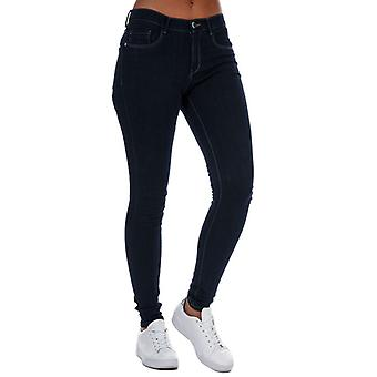 Women's Only Rain Life Skinny Jeans en azul