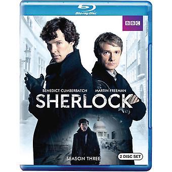 Sherlock - Sherlock: Season 3 [BLU-RAY] USA import