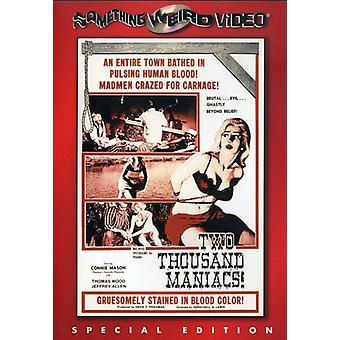 Två tusen galningar [DVD] USA import