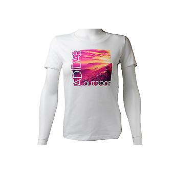 Adidas ADI landschap Tee AI5930 Womens T-shirt