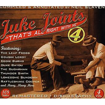 Juke Joints 4-That's All Right with Me - Juke Joints 4-Thats All Right with Me [CD] USA import