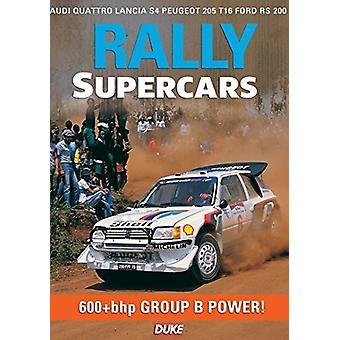 Rally Supercars [DVD] USA import