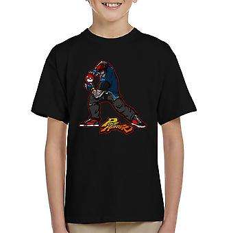 Poke Hunter Pokemon Street Fighter Kid's T-Shirt